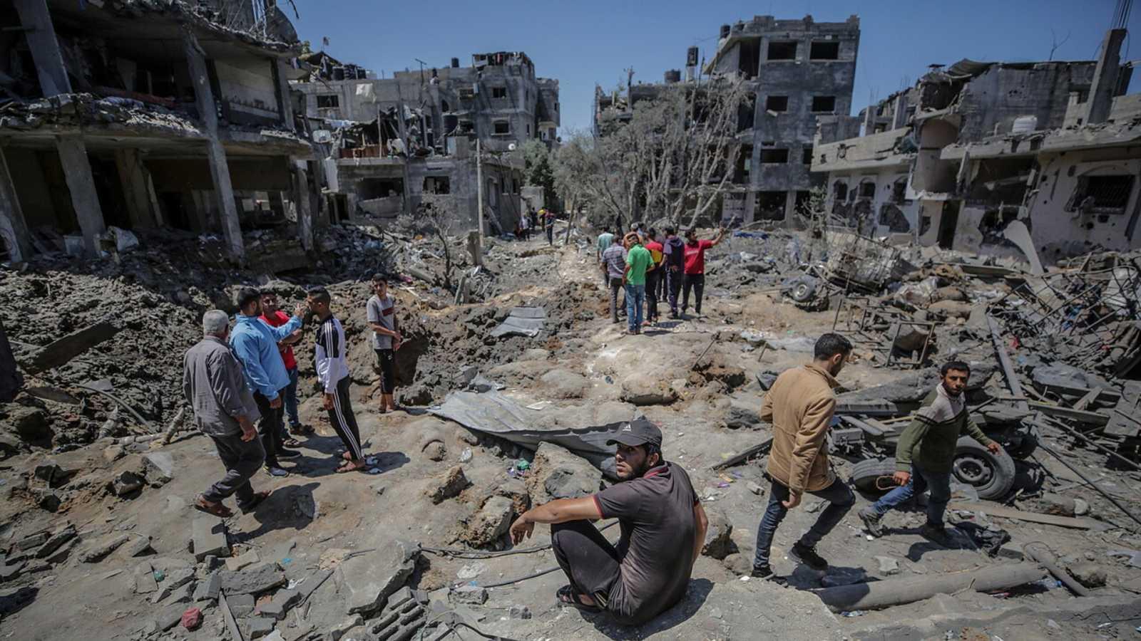 Israel lanza una gran ofensiva de bombardeos sobre Gaza