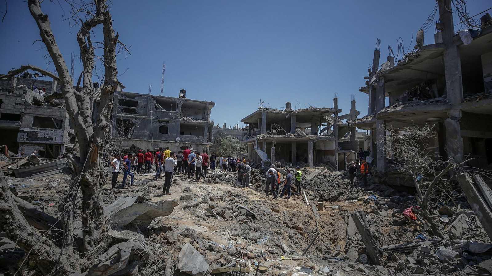 Exteriores activa planes para la posible evacuación de los 100 españoles en Gaza