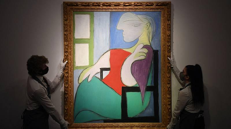 Hasta 103,4 millones de dólares llega la subasta de un cuadro de Picasso