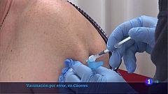 Un centenar de menores de 60 años vacunados por error con AstraZeneca