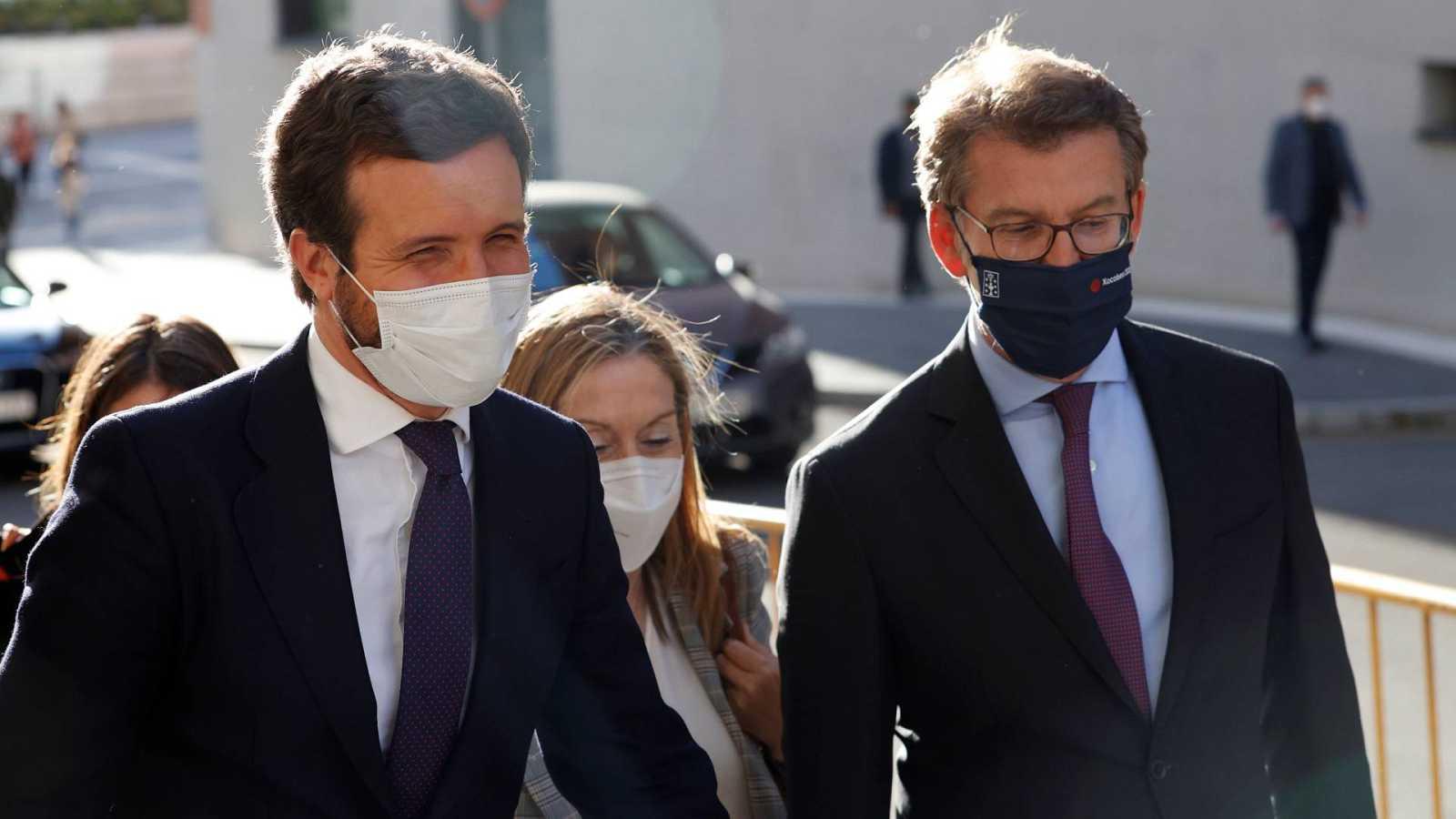 """Feijóo pide """"un cambio de ciclo"""" en el PP con un proyecto """"más europeo"""""""