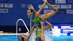 Natación artística - Campeonato de Europa. Final libre equipos
