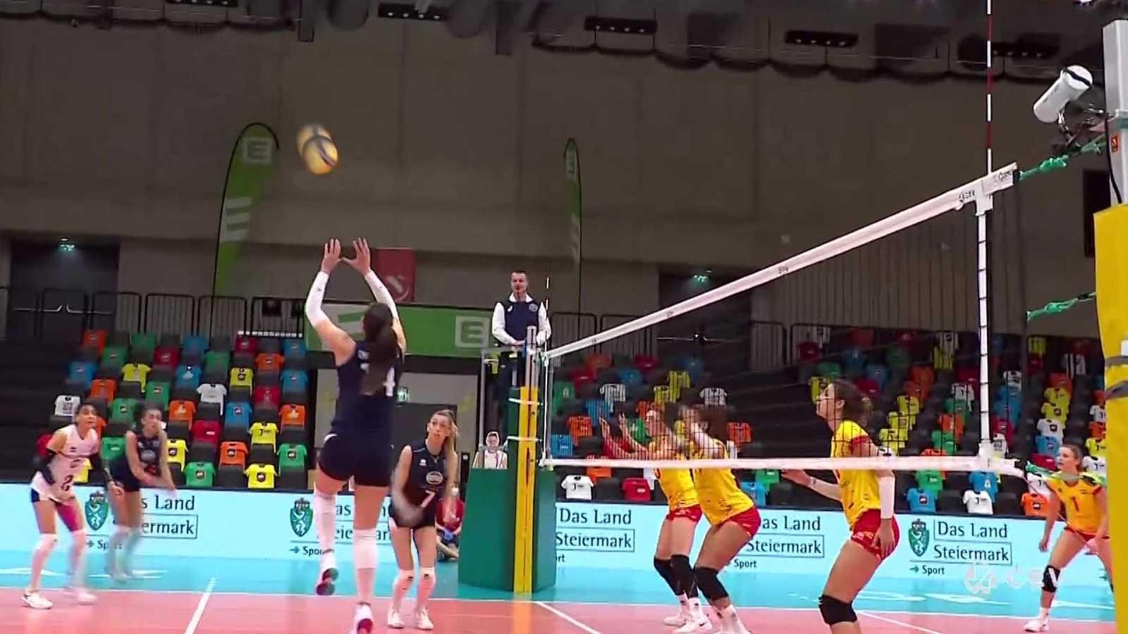 Voleibol - Clasificación Campeonato de Europa femenino 5ª jornada: España - Grecia  - ver ahora