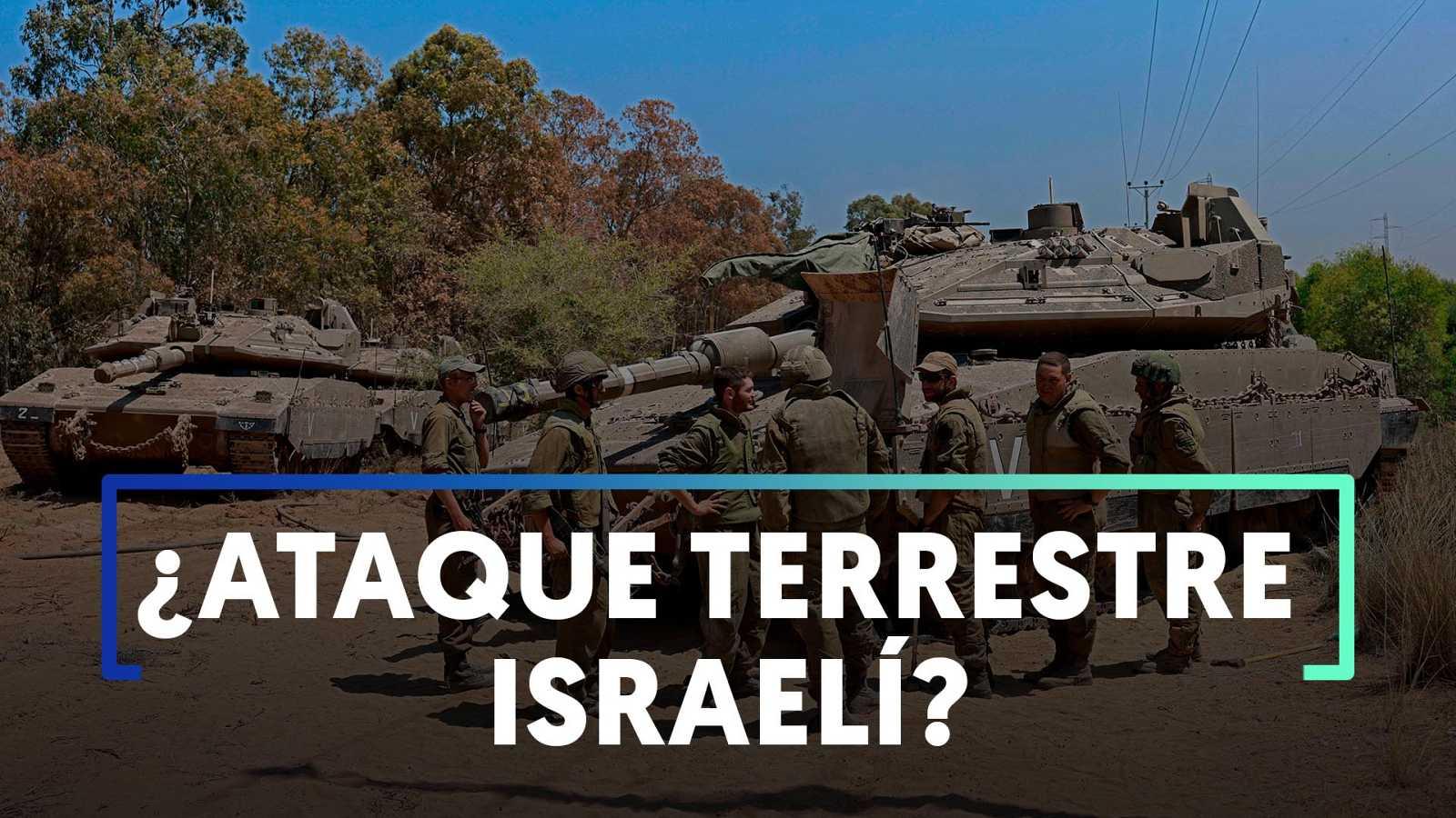 Israel prepara un ataque terrestre desde la Franja de Gaza