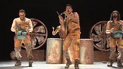 Se estrena en Madrid 'Trash!', una mezcla de percusión y humor con el sello de la veterana compañía Yllana
