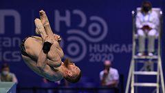 Natación Saltos - Campeonato de Europa. Final 3 m masculino