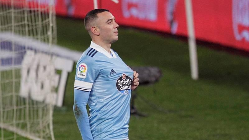 """Iago Aspas, preparado para el """"ilusionante"""" final de la liga"""