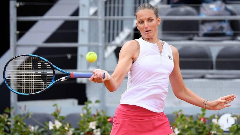 Tenis - WTA 1000 Torneo Roma 1/4 Final: Karolina Pliskova - Jelena Ostapenko - ver ahora