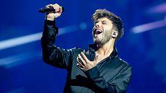 Eurovisión 2021 - Primer pase de Blas Cantó en su segundo ensayo
