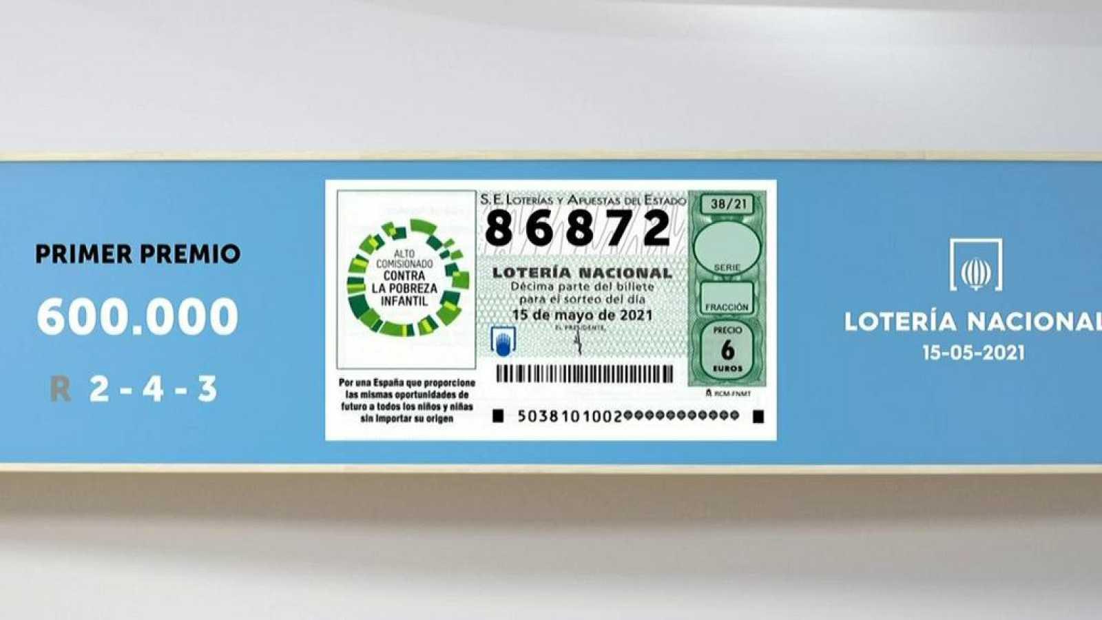Sorteo De La Lotería Nacional Del 15 05 2021