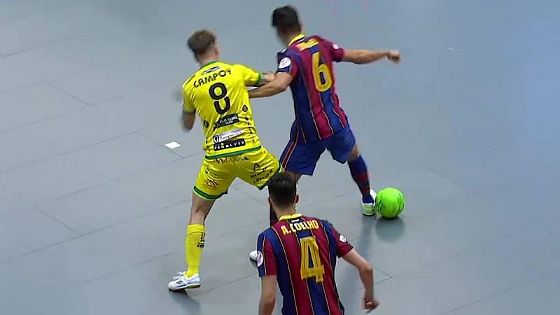 Fútbol Sala - Primera RFEF Futsal 30ª jornada: Jaén paraíso interior - Barça - ver ahora