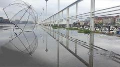 Lluvias localmente persistentes en zonas del oeste y norte de Galicia