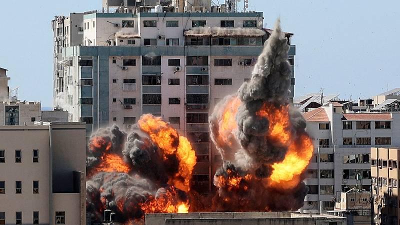 Nueva jornada de intercambio de bombardeos entre Israel y Hamás