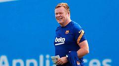Koeman quiere quedarse en el Barça