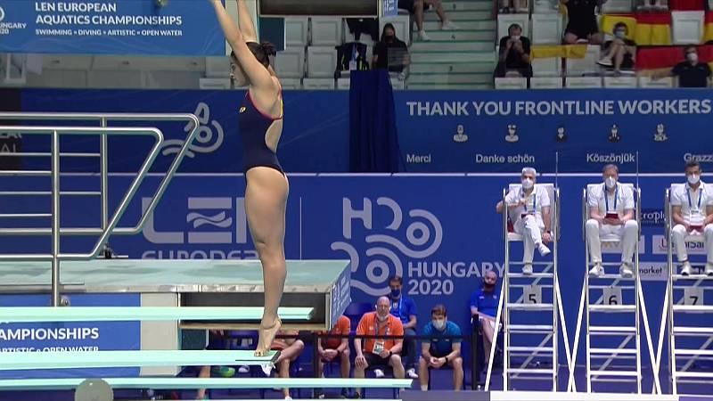 Natación Saltos - Campeonato de Europa. Preliminares 3 m femenino - ver ahora