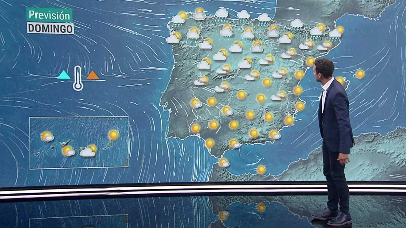 Vientos fuertes con rachas muy fuertes en Canarias - ver ahora