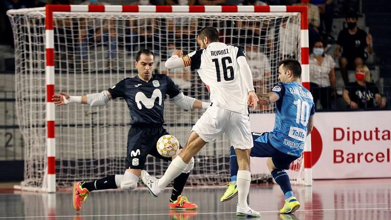 Fútbol Sala - Copa del rey. 2ª Semifinal: Movistar - Santa Coloma - ver ahora