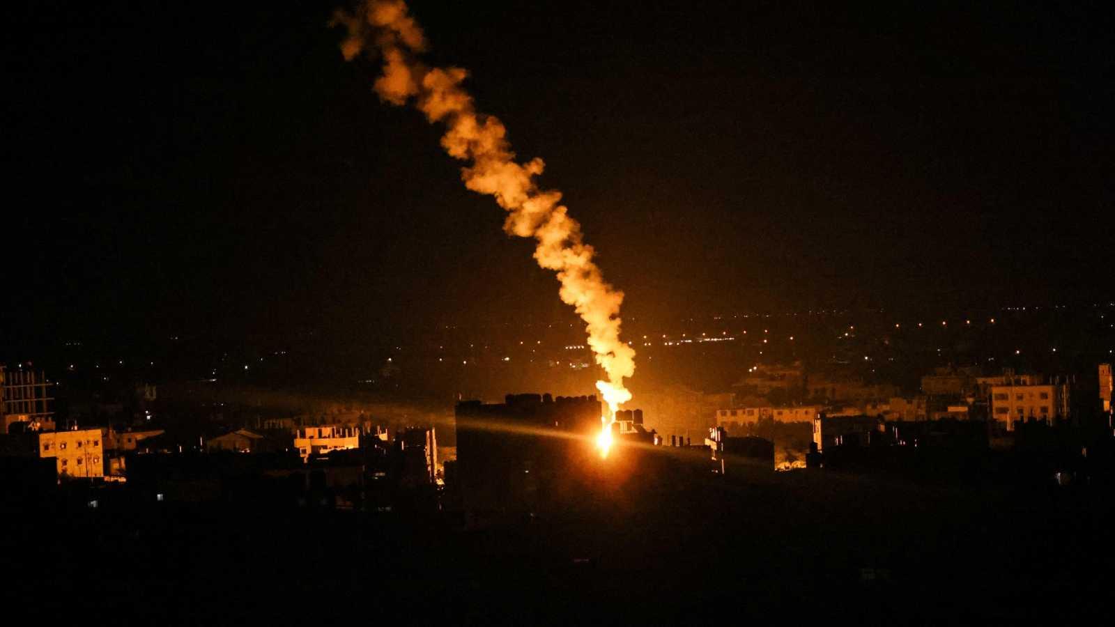 Israel bombardea la casa del jefe de Hamás en Gaza