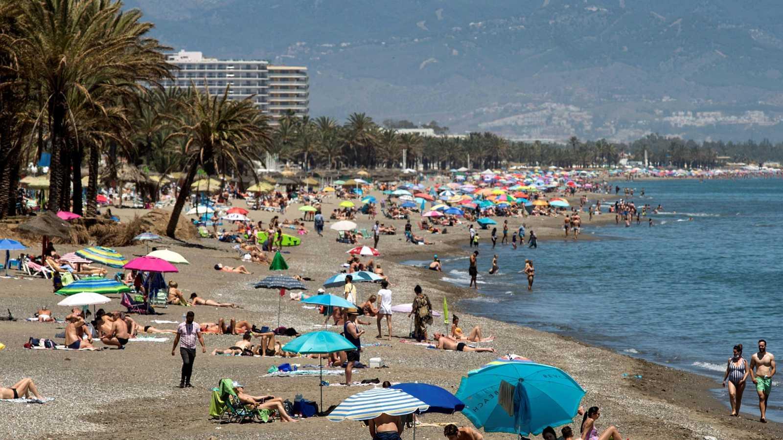 Temperaturas altas en el área mediterránea