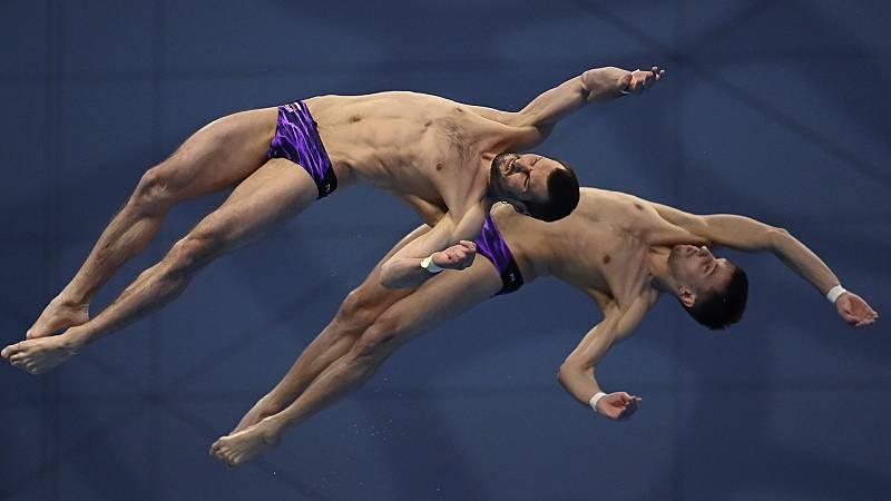 Natación Saltos - Campeonato de Europa. Final 10 m sincronizados masculino - ver ahora