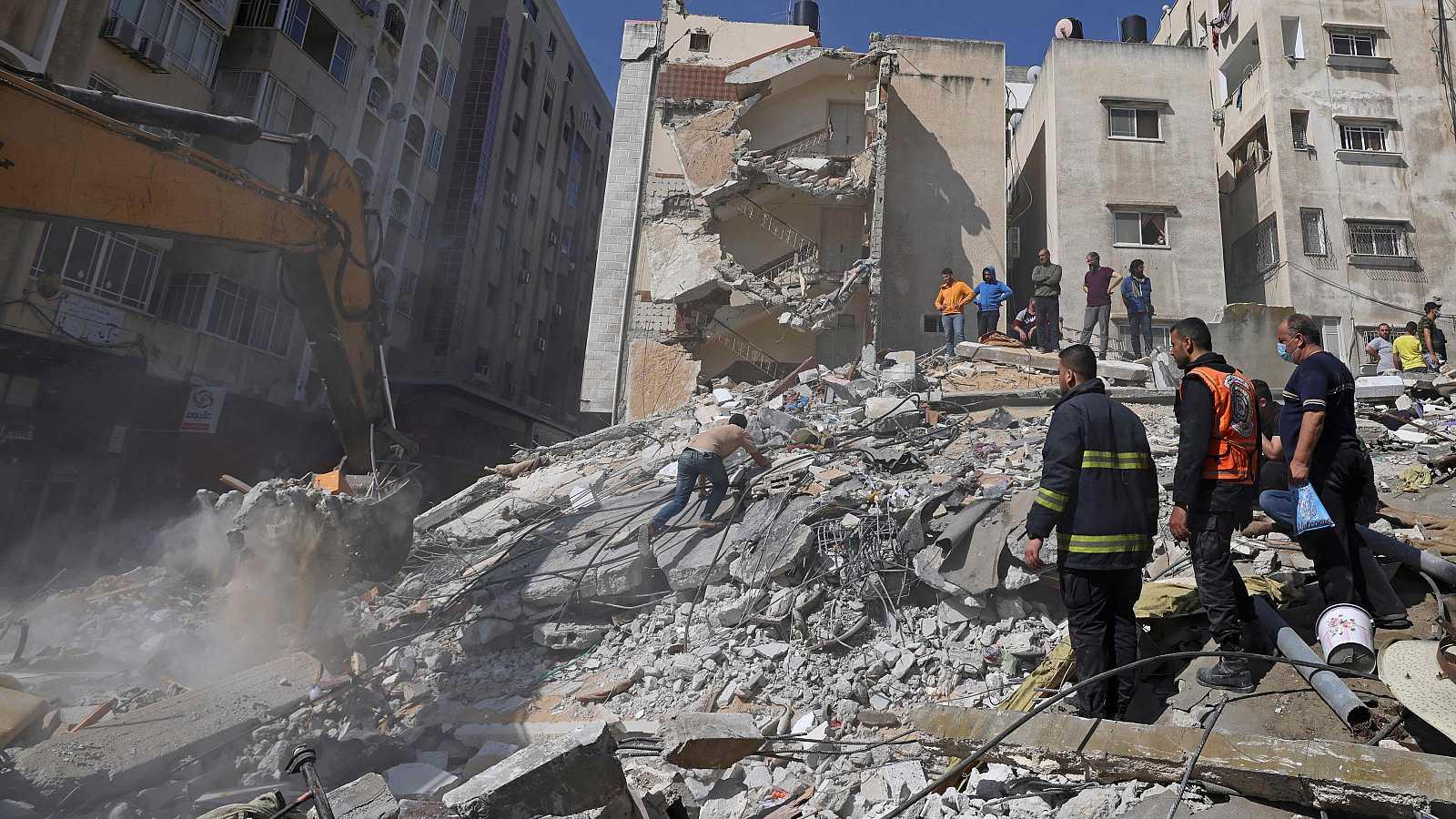 La aviación israelí bombardea la casa de un dirigente de Hamás