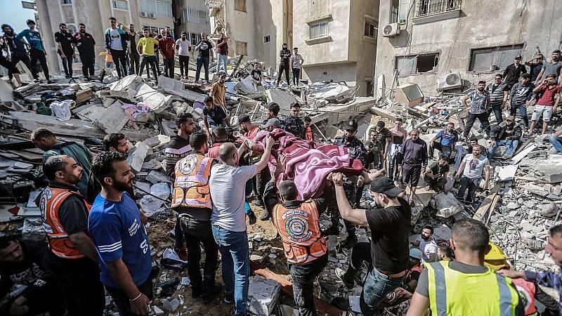 Gaza sufre 50 bombardeos en 15 minutos en una de las madrugadas más mortíferas