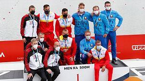 Fin de semana de medallas para España en piragüismo y marcha por equipos
