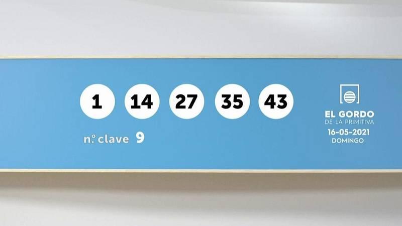 Sorteo de la Lotería Gordo de la Primitiva del 16/05/2021 - Ver ahora