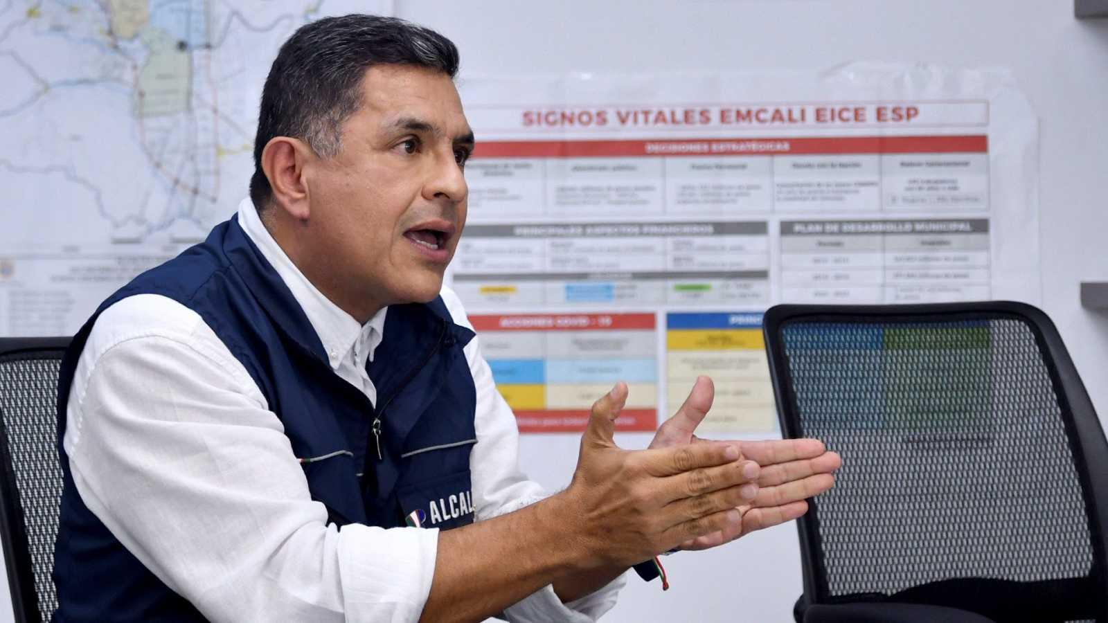 "Jorge Iván Ospina, alcalde de Cali: ""Prefiero tener basura en la calle a tenr muertos"""