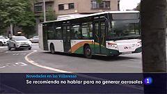 Silencio en el transporte urbano
