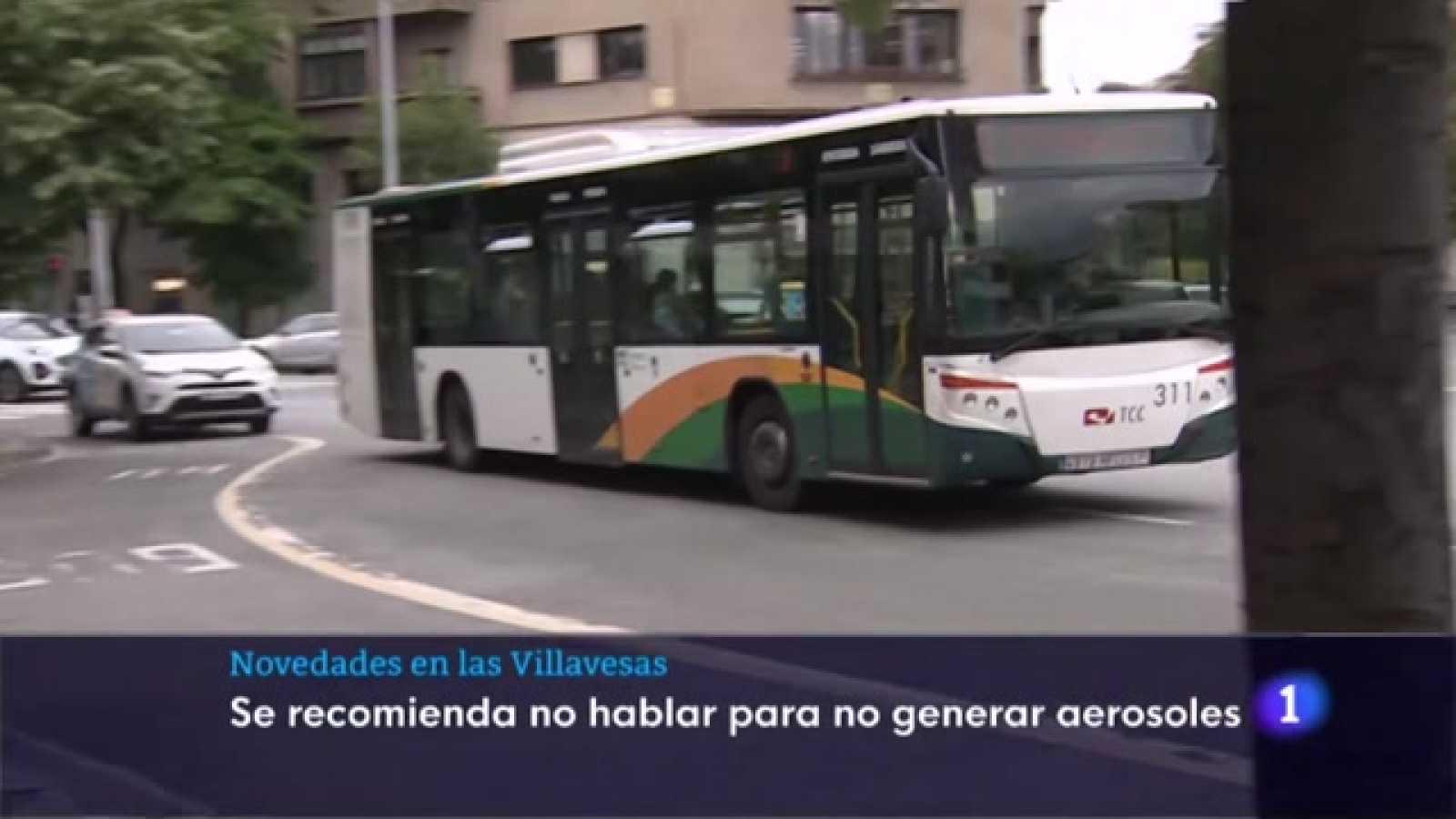 Silencio en el autobús urbano