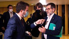 ERC y Junts cierran un principio de acuerdo para desatascar la investidura de Aragonès y formar un Gobierno de coalición