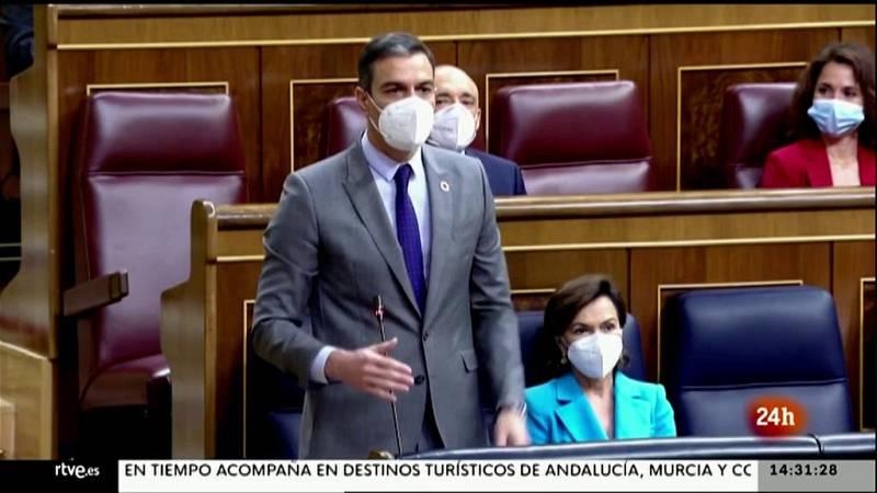 Parlamento - El foco parlamentario - Sesión de control sin estado de alarma - 15/05/2021