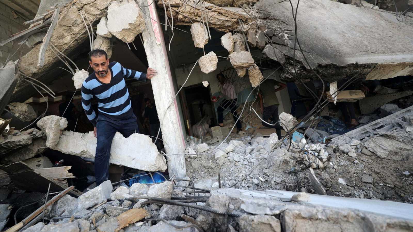 Israel continúa bombardeando Gaza después de una semana a pesar de los llamamientos internacionales - Ver ahora