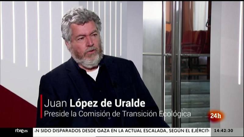 Parlamento - La entrevista - Juan López de Uralde: Ley de Cambio Climático - 15/05/2021
