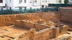 Obras en un supermercado sacan a la luz un yacimiento romano en Calella
