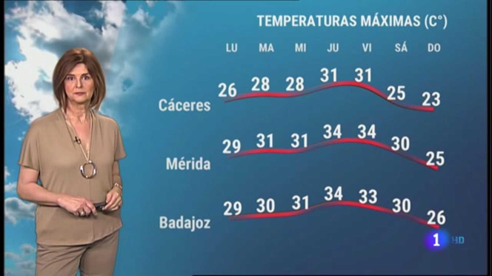 El tiempo en Extremadura - 17/05/2021