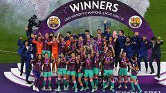 El Barcelona femenino hace historia al ganar su primera Liga de Campeones