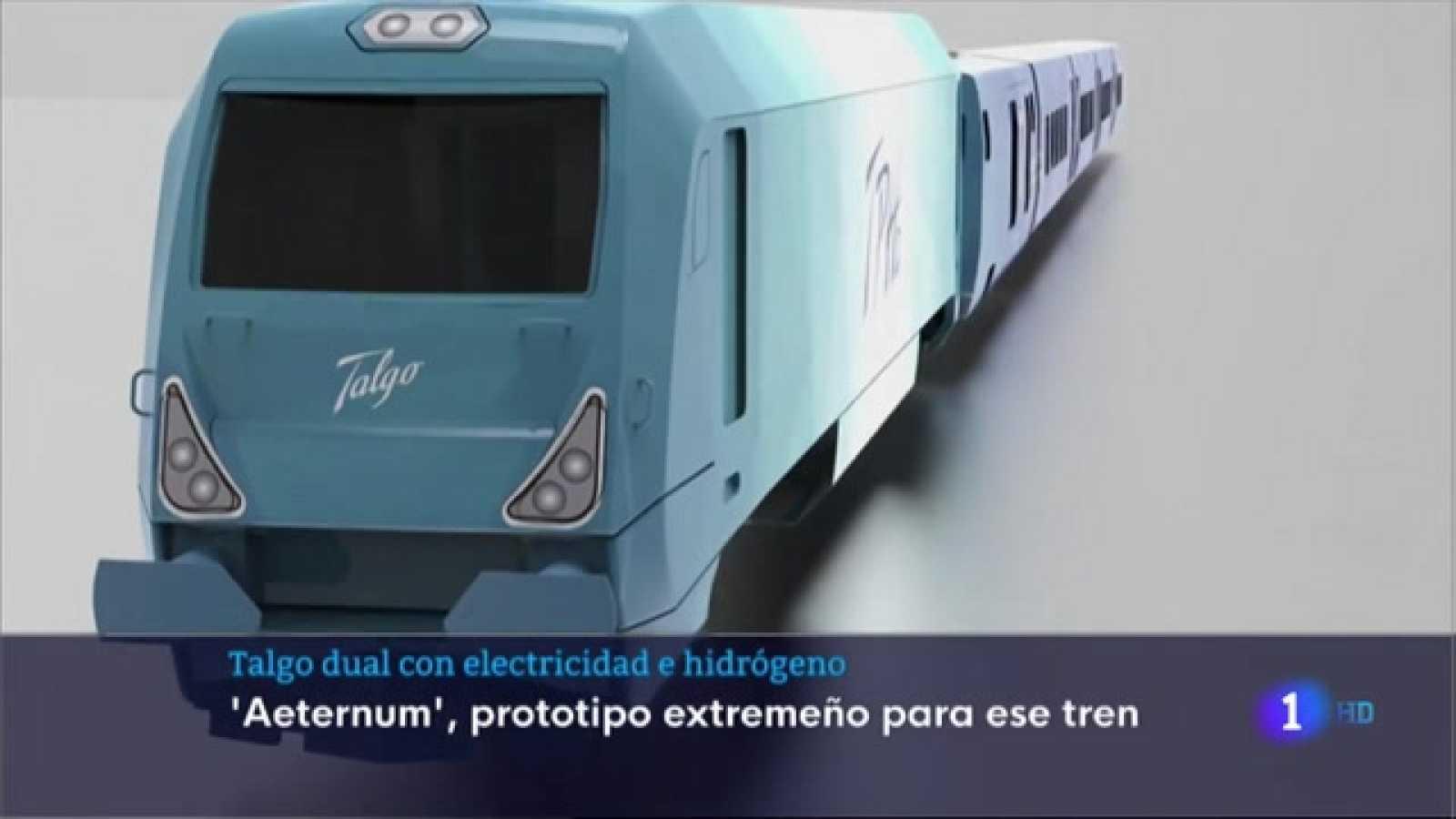 Talgo podría fabricar trenes que combinen electricidad e hidrógeno, en Extremadura - 17/05/2021