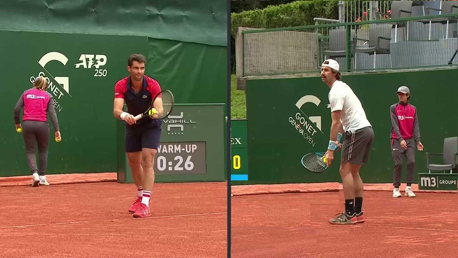 Tenis - ATP 250 Torneo Ginebra: Jordan Thompson - Pablo Andujar - ver ahora