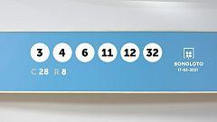 Sorteo de la Lotería Bonoloto del 17/05/2021