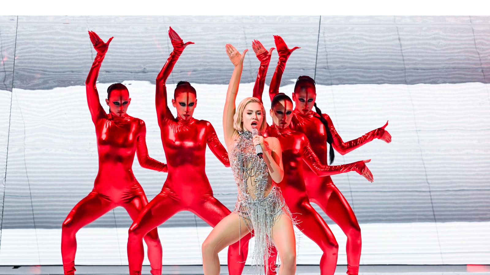 Eurovisión 2021 - Minuto de Chipre en el ensayo general de la primera semifinal