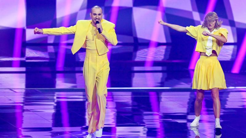 Eurovisión 2021 - Minuto de Lituania en el ensayo general de la primera semifinal