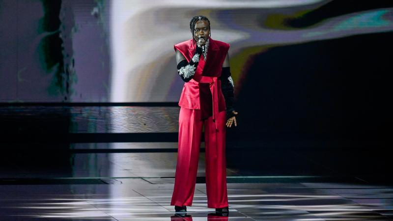 Eurovisión 2021 - Minuto de Suecia en el ensayo general de la primera semifinal