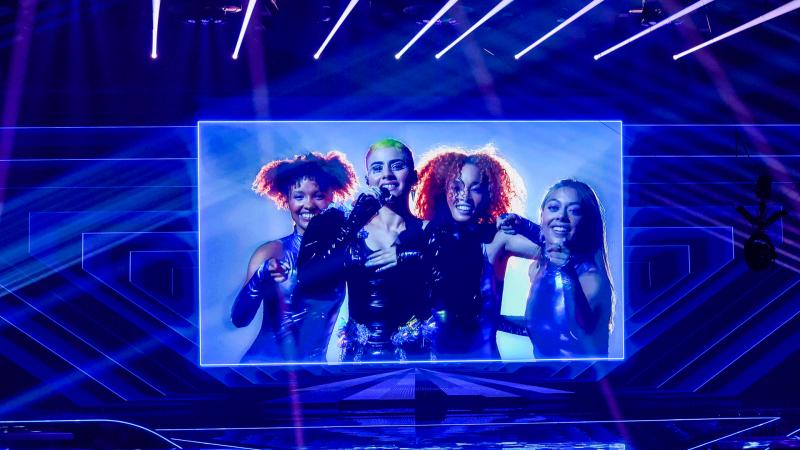 Eurovisión 2021 - Minuto de Australia en el ensayo general de la primera semifinal