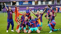 La Champions del Barça, último logro del fútbol femenino español