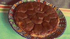 Paloma San Basilio nos enseña la receta de la tarta Tatin
