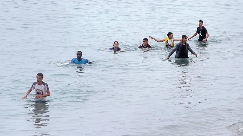 ¿Cuál es la ruta que están siguiendo los migrantes que llegan a Ceuta?