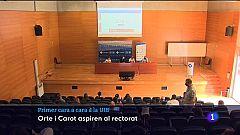 Debat per les eleccions a rector de la UIB