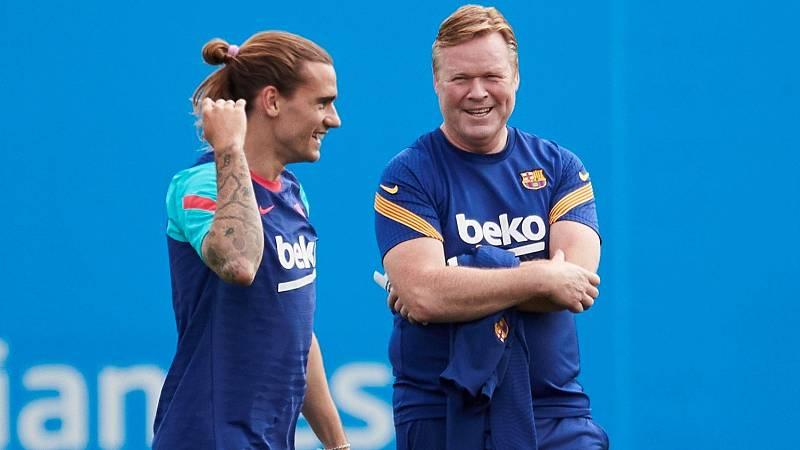 El Barça prepara su futuro con Koeman en el aire